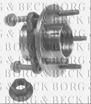 Комплект подшипника ступицы колеса BORG & BECK BWK1170