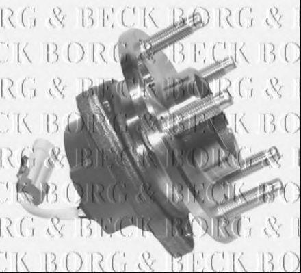 Комплект подшипника ступицы колеса BORG & BECK BWK848