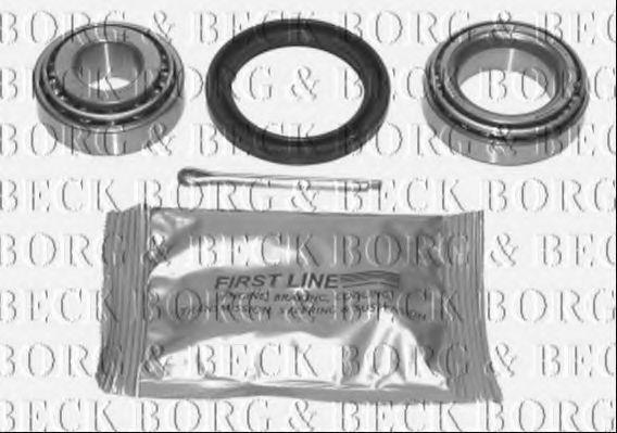 Комплект подшипника ступицы колеса BORG & BECK BWK061