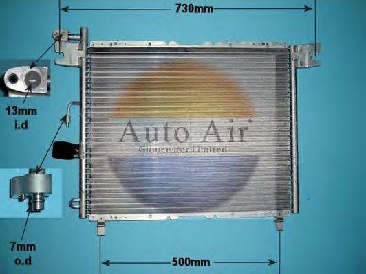 Конденсатор, кондиционер AUTO AIR GLOUCESTER 161163