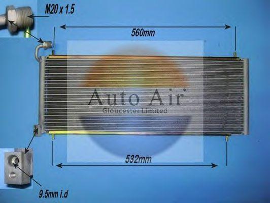 Конденсатор, кондиционер AUTO AIR GLOUCESTER 161288