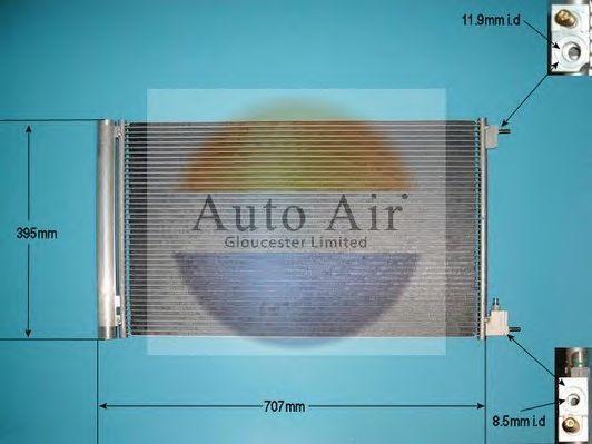 Конденсатор, кондиционер AUTO AIR GLOUCESTER 160011