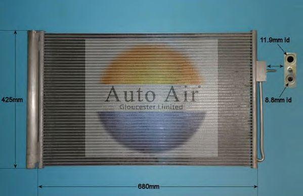 Конденсатор, кондиционер AUTO AIR GLOUCESTER 169813