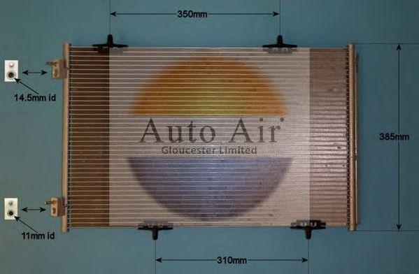 Конденсатор, кондиционер AUTO AIR GLOUCESTER 161992