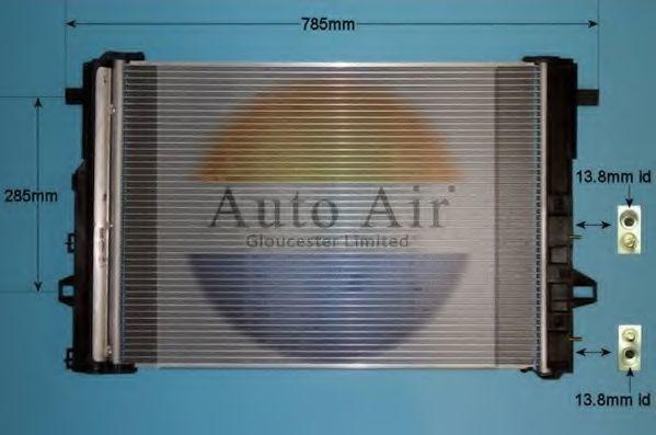 Конденсатор, кондиционер AUTO AIR GLOUCESTER 161399