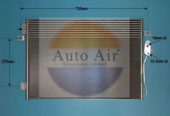Конденсатор, кондиционер AUTO AIR GLOUCESTER 166235