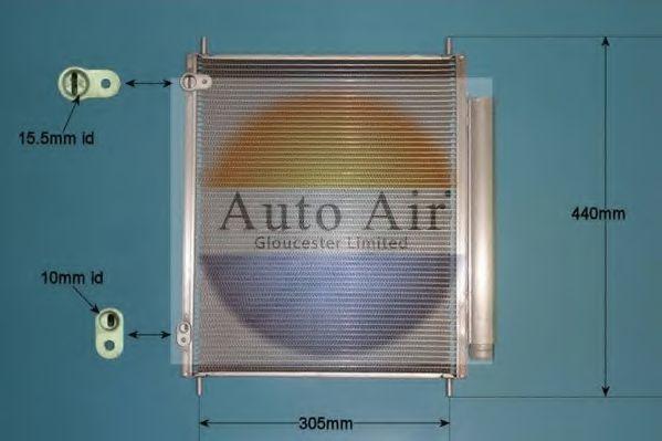Конденсатор, кондиционер AUTO AIR GLOUCESTER 169814