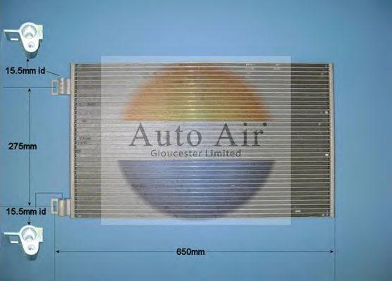 Конденсатор, кондиционер AUTO AIR GLOUCESTER 169123