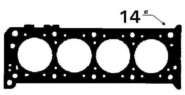 Прокладка ГБЦ BGA CH4395
