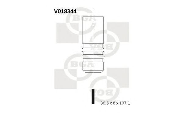 Клапан двигателя впускной BGA V018344