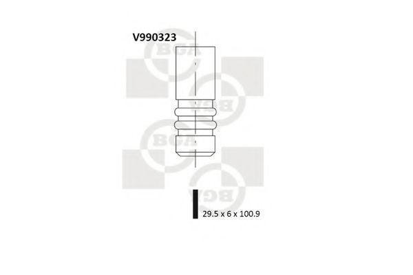 Клапан двигателя впускной BGA V990323