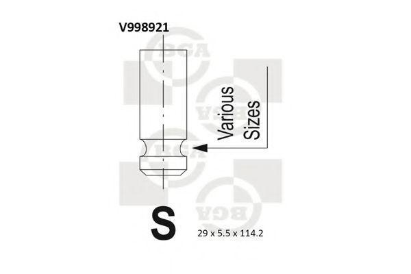 Выпускной клапан BGA V998921
