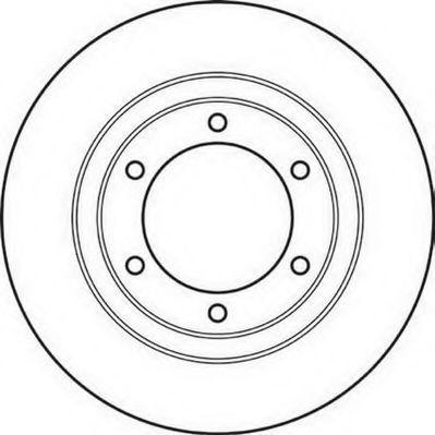 Тормозной диск JURID 561032J
