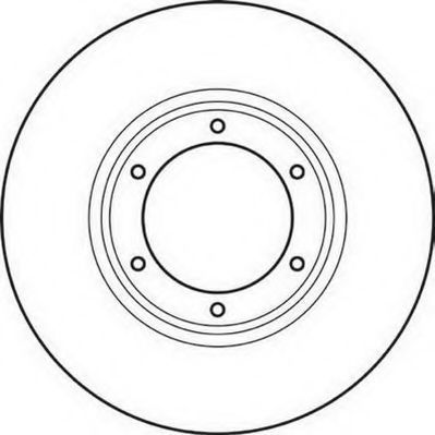 Тормозной диск JURID 561043JC