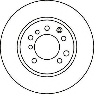 Тормозной диск JURID 561050J