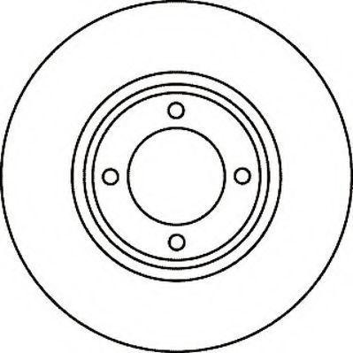 Тормозной диск JURID 561052J