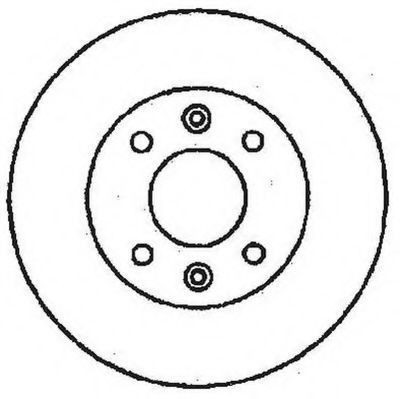 Тормозной диск JURID 561235J
