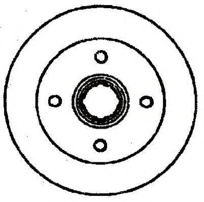 Тормозной диск JURID 561278J
