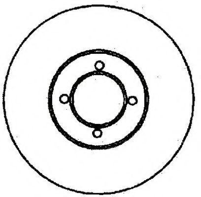 Тормозной диск JURID 561318J