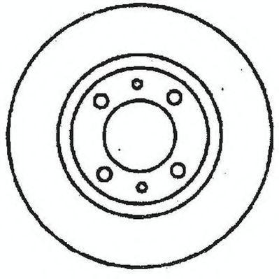 Тормозной диск JURID 561326JC