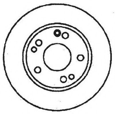 Тормозной диск JURID 561330JC