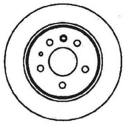 Тормозной диск JURID 561344JC