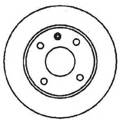 Тормозной диск JURID 561373JC