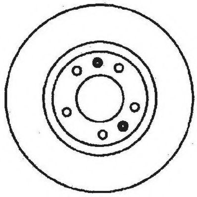 Тормозной диск JURID 561616JC
