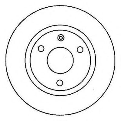 Тормозной диск JURID 561682JC
