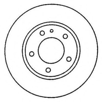 Тормозной диск JURID 562048J