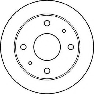Тормозной диск JURID 562144J