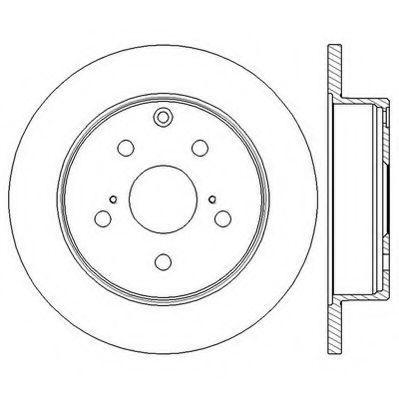 Тормозной диск JURID 562601JC