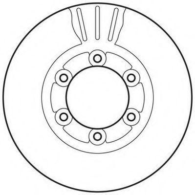 Тормозной диск JURID 562831JC