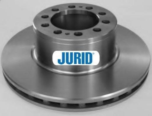Тормозной диск JURID 569160J