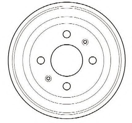 Тормозной барабан JURID 329000J