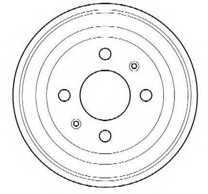 Тормозной барабан JURID 329002J