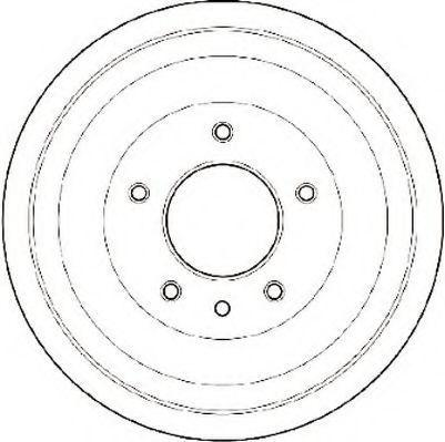 Тормозной барабан JURID 329027J
