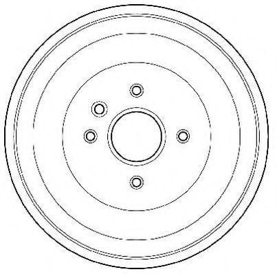 Тормозной барабан JURID 329028J