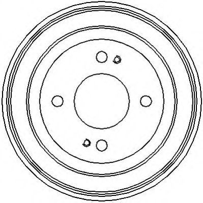 Тормозной барабан JURID 329060J