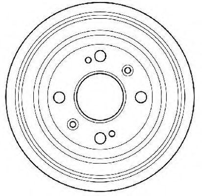 Тормозной барабан JURID 329071J