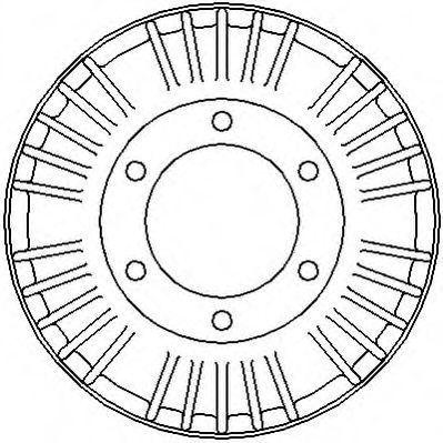 Тормозной барабан JURID 329120J