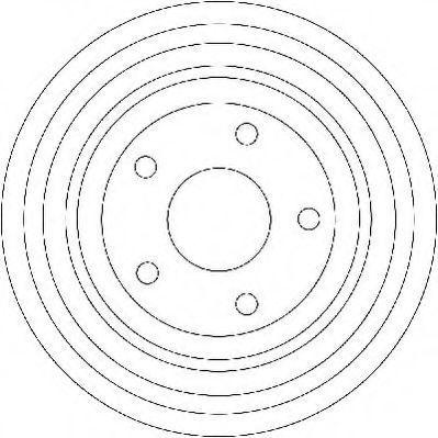 Тормозной барабан JURID 329181J