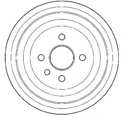 Тормозной барабан JURID 329204J