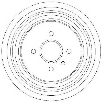 Тормозной барабан JURID 329282J