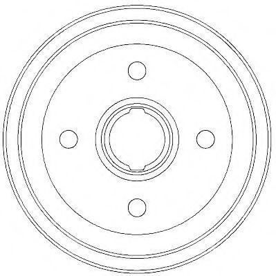 Тормозной барабан JURID 329320J