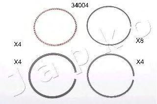 Поршневое кольцо JAPKO 134004