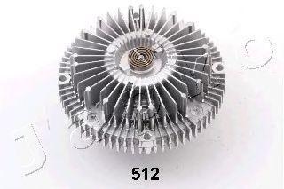 Сцепление, вентилятор радиатора JAPKO 36512