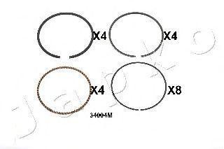 Поршневое кольцо JAPKO 434004JM
