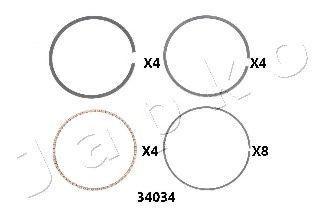 Поршневое кольцо JAPKO 434034J