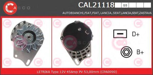 Генератор CASCO CAL21118GS